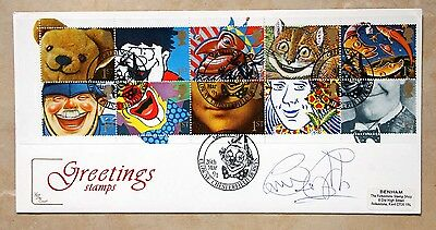 SIR BRUCE FORSYTH signed First Day Cover (FDC) - STRICTLY COME DANCING