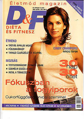 CINDY     CRAWFORD      Hungarian magazine