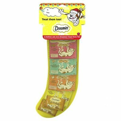 Dreamies Christmas Cat Stocking | With 6 Treats | BUY 2+ GET 25% OFF