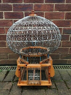 Vintage Ornate Bird Cage