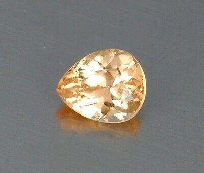 IF 1.11 Ct Ultra Rare Famous Katlang Mine Bright Orange Natural Imperial Topaz