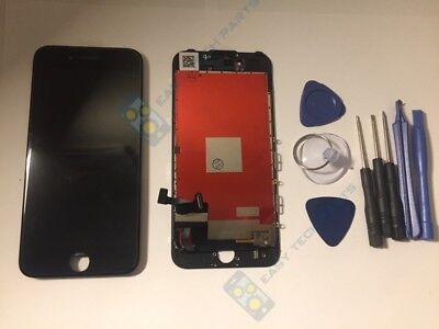 BLACK For iPhone 7 Assembly Genuine OEM Display LCD Digitizer Screen Replacement