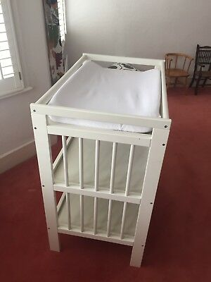Baby Changing Table Unit Ikea Gullliver White