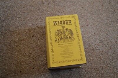 1985 WISDEN cricketers almanack