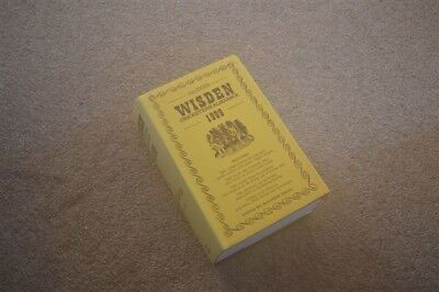 1999 WISDEN cricketers almanack