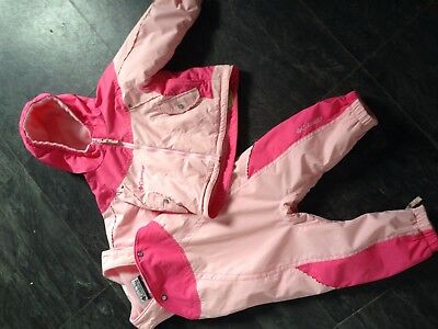 NEW Columbia Ski Suit 2T 18-24 Month Girls PINK JACKET AND celepets