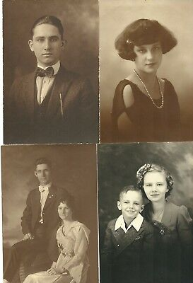 "Vintage 1920's-1930's Photograph Lot of Eight ""Wonderful Photo's"""