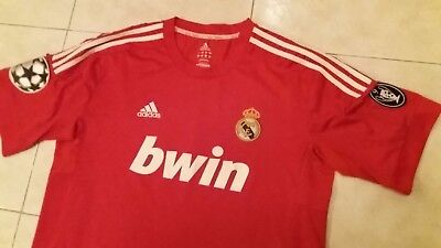 ADIDAS Football REAL MADRID THIRD SHIRT CHAMPIONS,  #7 RONALDO,  2011/2012,  XL
