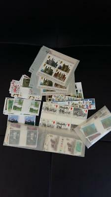 UK England MNH Face Value stamps, Face Vale: 92 GB Pounds