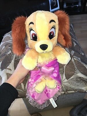 Disney Baby Lady And The Tramp Teddy