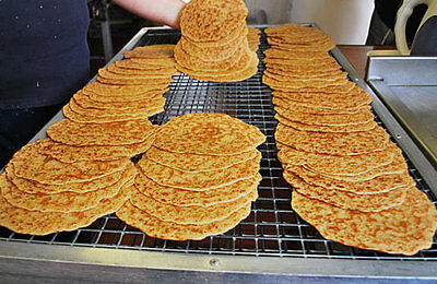 Half Dozen OATCAKES Stoke on Trent's Staffordshire  Vacuum packed & delivered
