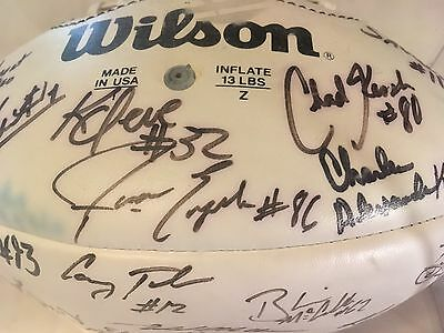 LSU FOOTBALL AUTOGRAPHS SIGNATURE 1962-1999 35 PLAYERS DUHON GIBBS WILEY McCLURE