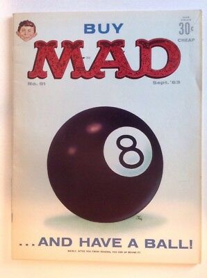 Mad Magazine #81 (September 1963) VG