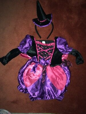 12-18 Month Halloween Witch Costume