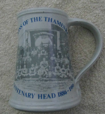 Sons Of The Thames Rowing Club Centenary Tankard 1986