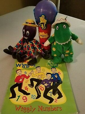 The Wiggles Lot Microphone Dorothy Henry Book Vintage