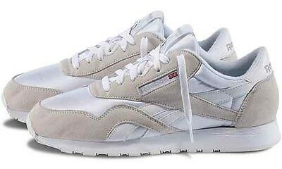 new concept huge selection of various styles REEBOK CLASSIC NYLON White/Grey Men's Running / Casual ...