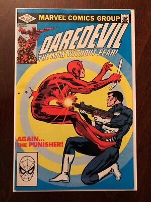 Daredevil #183. Punisher App. Classic Cover. High Grade. Hot!