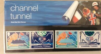 Stamps 1994 ROYAL CHANNEL TUNNEL  MINT DECIMAL STAMPS