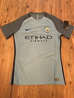 Manchester City Player Issue Home Shirt Size Extra Large Aeroswift Brand New