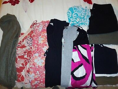 large bundle of Maternity clothes, size 10