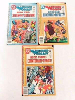 Wonder Woman #291, 292, 293 DC Comics Bronze Age High Grade NM 9.2-9.4 CC227
