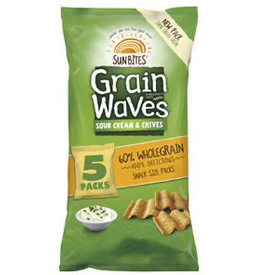 Grainwaves Sour Cream and Chives 5 Pack 110g
