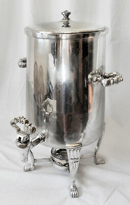 FABULOUS! 3-Gallon Vtg ONEIDA PREMIER Silver Plate Ftd Ornate Coffee Samovar Urn