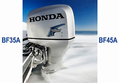 Honda Marine Outboard Workshop Service Repair Manual Bf35A &  Bf45A