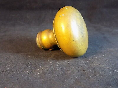 "BRASS DOOR KNOB Antique hardware 2"" Diameter 1/4"" threaded w/ set screw"