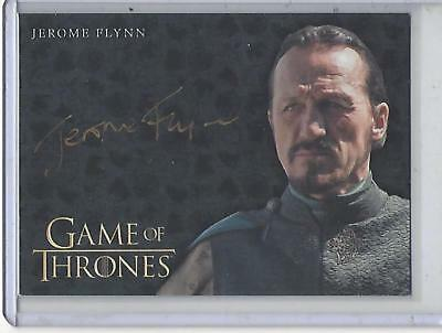 Game of Thrones Valyrian Steel Jerome Flynn GOLD autograph #2