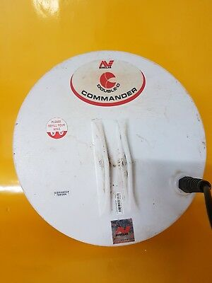 "Minelab Double-D COMMANDER COIL 11"" Round - New - For Gold Detector"