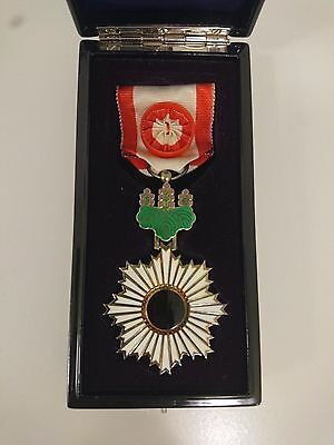 Japanese Order of the Rising Sun 4th Medal Japan WWII badge army navy