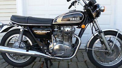 1975 Yamaha XS  1975 YAMAHA XS650 STREET TWIN ONLY 2080 MILES, WAS ONE OWNER, NO RESERVE.