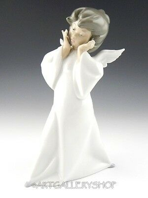Lladro Figurine MIME PUZZLED ANGEL CHERUB #4959 Mint