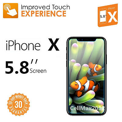 9H+ Premium Tempered Glass Screen Protector for iPhone X iPhone 8 8+ 7 7+ Lot