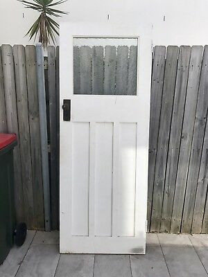 Door, Federation Style, Solid, In Good Condition