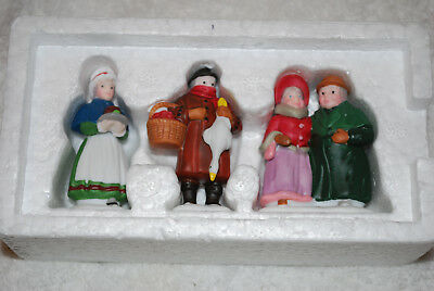 """Dept 56 Dickens' Village """"fezziwegs And Friends"""" - #59285 - With Box"""