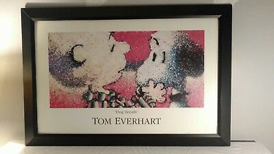 Tom Everhart Framed Snoopy Print Dog Breath 43 x 29