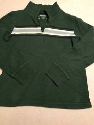 Boys Half Zipped Pullover Everyday Shirt Size L (7)