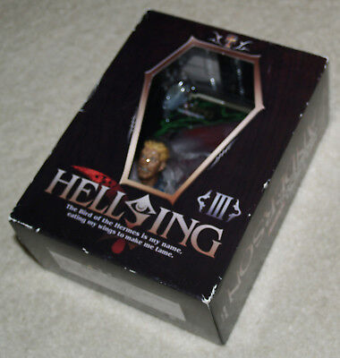 Hellsing: Anderson relief/bust - Japan Anime Manga - complete CIB