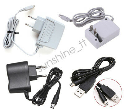 Wall Travle Charger Power Adapter Supply For Nintendo NDSi 3DS LL/XL New