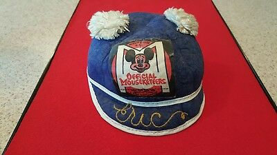 Vintage Rare Mickey Mouse Club Mouseketeers Cap hat Disney collectable