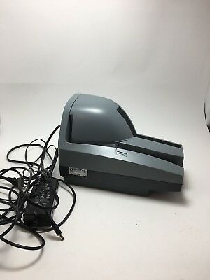 DIGITAL CHECK TS240 50dpm TELLERSCAN240 USB CHECK SCANNER WITH POWER SUPPLY #Y1