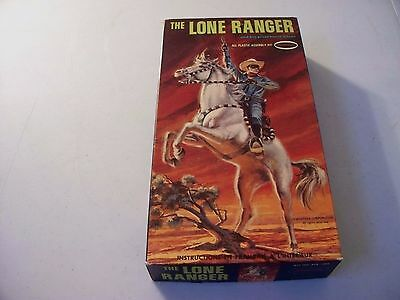1967 Aurora The Lone  Ranger  Model Kit With Box Kit And Instructions