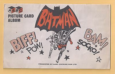 BATMAN A&BC 1966 BLACK BACK Full FAN CLUB (55/55) Set !