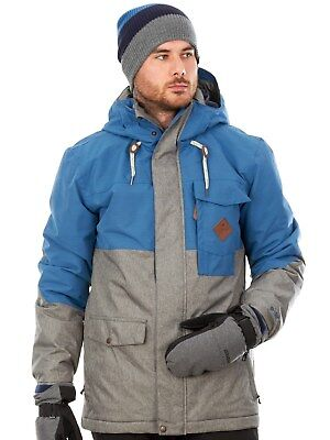 Protest Snowboardjacke Mayfield Blau Gas