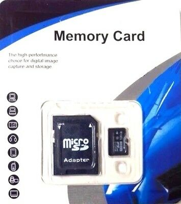 Class 10 128GB Micro SD Memory Card With Adapter Australia stock Fast postage