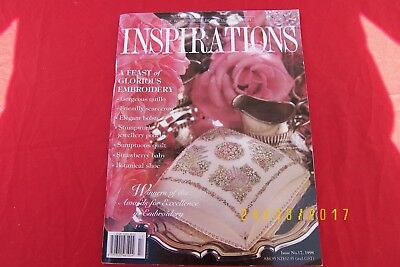 inspirations magazine embroidery gifts issue 17 1998