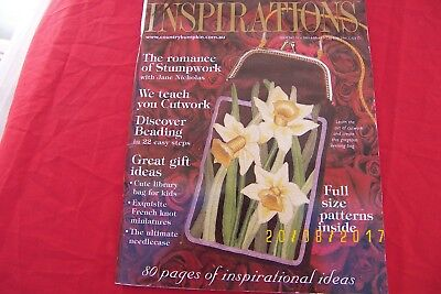 inspirations magazine issue 31 2001 embroidery gifts
